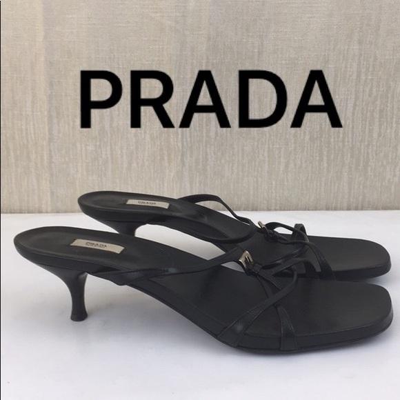 cbd2e65f128440 Prada Shoes - ⭐️PRADA SANDAL HEELS 💯AUTHENTIC